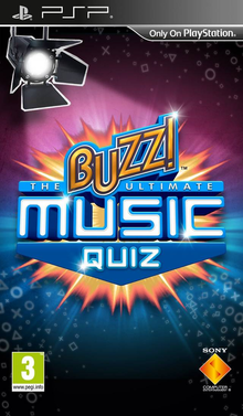 Box art for the game Buzz!: The Ultimate Music Quiz