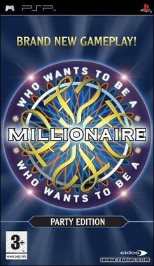Box art for the game Who Wants to Be a Millionaire: Party Edition