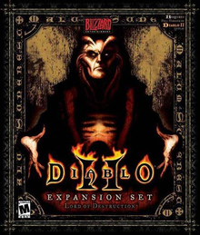 Box art for the game Diablo II: Lord of Destruction