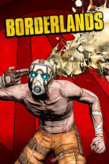 Box art for the game Borderlands