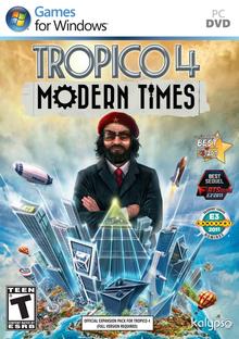Box art for the game Tropico 4: Modern Times