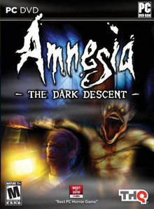 Box art for the game Amnesia: The Dark Descent