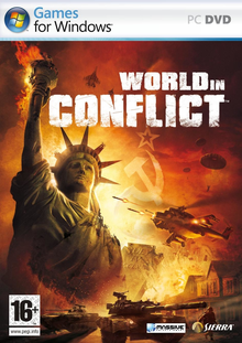 Box art for the game World in Conflict