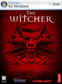 Capa do jogo The Witcher