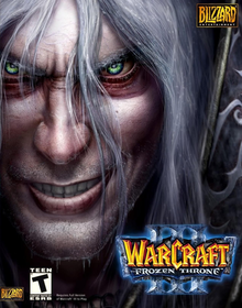 Box art for the game Warcraft III: The Frozen Throne