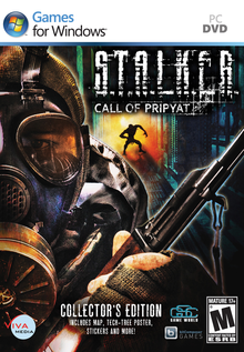 Box art for the game S.T.A.L.K.E.R.: Call of Pripyat