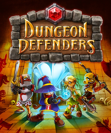 Box art for the game Dungeon Defenders