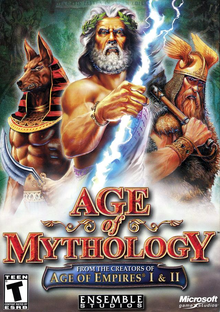 Box art for the game Age of Mythology