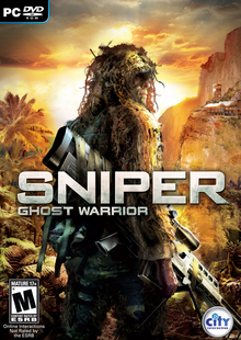 Box art for the game Sniper: Ghost Warrior