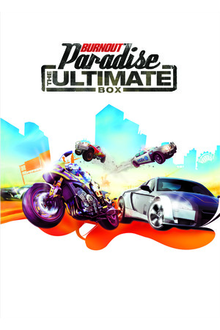Box art for the game Burnout Paradise: The Ultimate Box