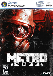 Box art for the game Metro 2033
