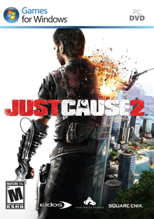 Box art for the game Just Cause 2