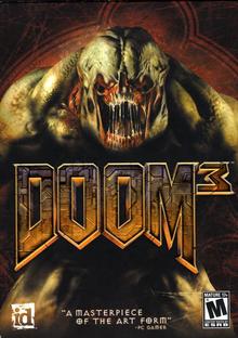 Box art for the game Doom 3