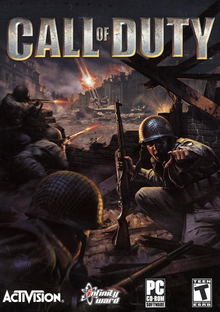 Capa do jogo Call of Duty
