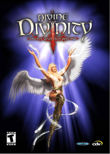 Box art for the game Divine Divinity