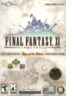 Box art for the game Final Fantasy XI