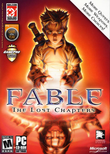 Box art for the game Fable: The Lost Chapters