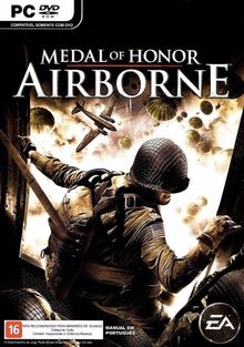 Box art for the game Medal of Honor: Airborne