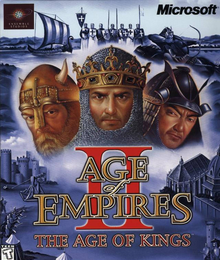 Box art for the game Age of Empires II: The Age of Kings