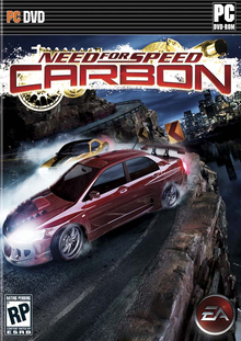 Box art for the game Need for Speed Carbon