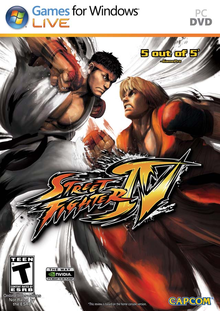 Box art for the game Street Fighter IV