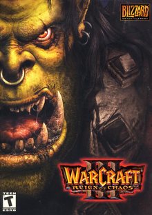 Box art for the game Warcraft III: Reign of Chaos