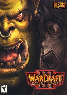 Capa do jogo Warcraft III: Reign of Chaos