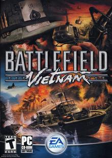 Box art for the game Battlefield Vietnam