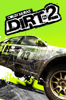Box art for the game DiRT 2