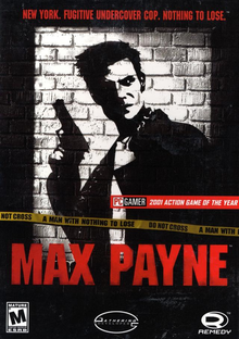 Box art for the game Max Payne
