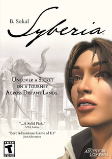 Box art for the game Syberia