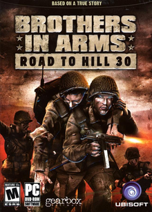 Box art for the game Brothers in Arms: Road to Hill 30