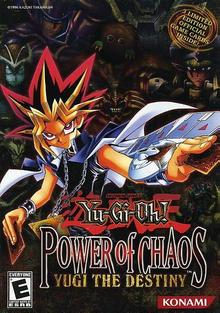 Box art for the game Yu-Gi-Oh! Power of Chaos - Yugi the Destiny