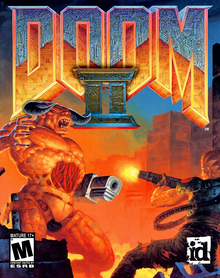 Box art for the game Doom II