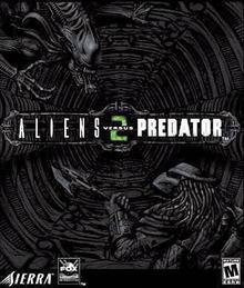 Box art for the game Aliens Versus Predator 2