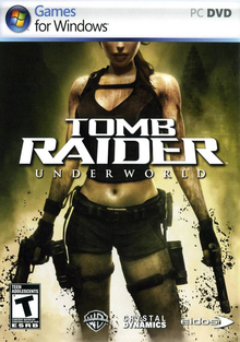 Box art for the game Tomb Raider: Underworld
