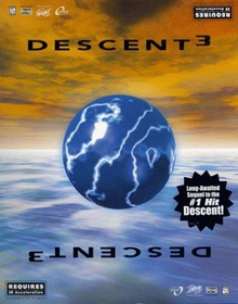 Box art for the game Descent 3