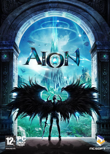Box art for the game Aion
