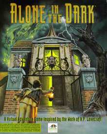 Box art for the game Alone in the Dark (1992)