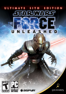 Box art for the game Star Wars: The Force Unleashed - Ultimate Sith Edition