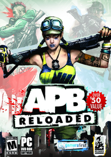 Box art for the game APB: Reloaded