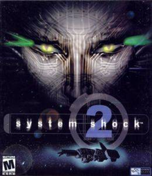 Box art for the game System Shock 2