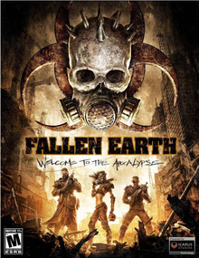 Box art for the game Fallen Earth: Welcome to the Apocalypse