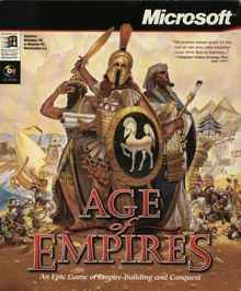 Box art for the game Age of Empires
