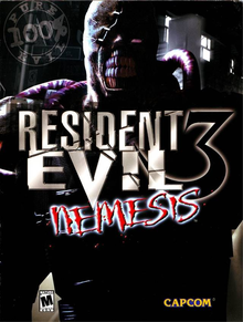 Box art for the game Resident Evil 3: Nemesis