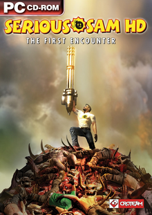 Box art for the game Serious Sam HD: The First Encounter