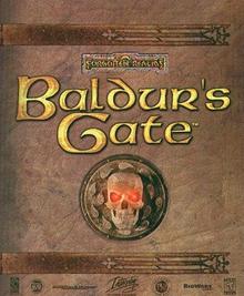Box art for the game Baldur's Gate