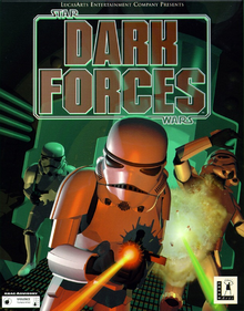 Box art for the game Star Wars Dark Forces