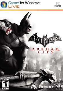 Box art for the game Batman: Arkham City
