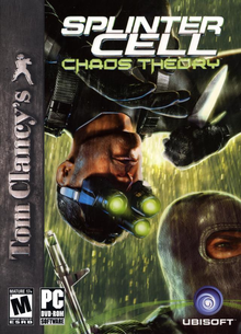 Box art for the game Tom Clancy's Splinter Cell Chaos Theory